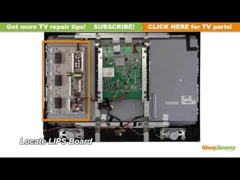 Westinghouse 56.04073.011 Power Supply / Backlight Inverter Boards Replacement Guide LCD TV Repair