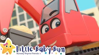 Building Site Song! | +More Nursery Rhymes & Kids Songs | Song Compilation | Little Baby Bum