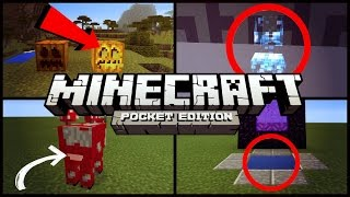 ✔️Minecraft PE - 6 THINGS YOU DIDN
