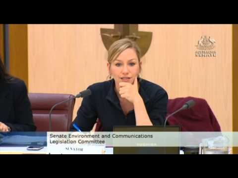 Larissa in Senate Estimates: Great Barrier Reef Marine Park Authority