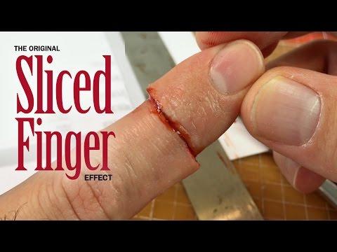 Original Sliced Finger SFX makeup tutorial