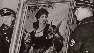 Paintings stolen by Nazis revealed for first time
