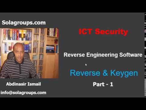 Reverse Engineering Software Part-1