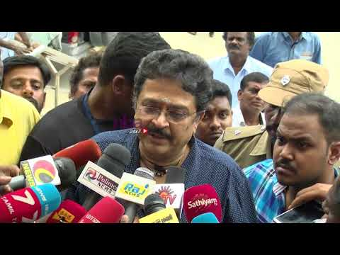 Nadigar Sangam general body Meeting | S Ve Sekhar | I am Here for my Rights   | nba 24x7