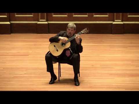 Oscar Ghiglia plays Poulenc Sarabande & Milhaud Segoviana