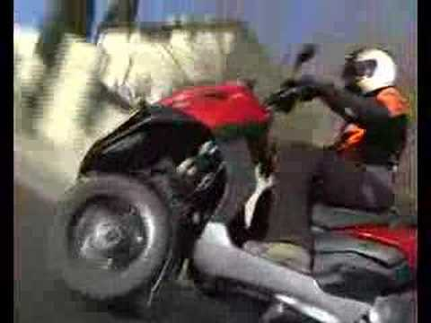 Gilera Fuoco 500 Test Ride - Hebrew (Fullgaz)