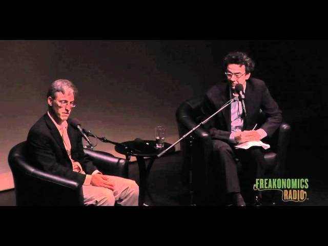 Q&A with Levitt and Dubner: Freakonomics Radio Live in St. Paul