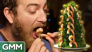 Gross Christmas Food Taste Test