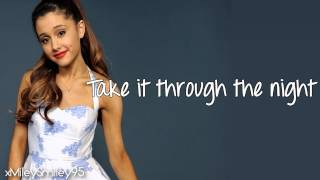 Ariana Grande - Piano (with lyrics)
