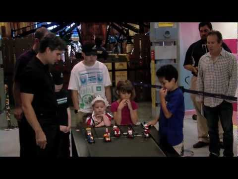 Jeff Gordon visits North Texas children at Legoland Discovery Center
