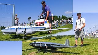 2x RC MODEL AIRPLANE FOCKE-WULF FW 200 CONDOR LUFTHANSA DEMO FLIGHT!!