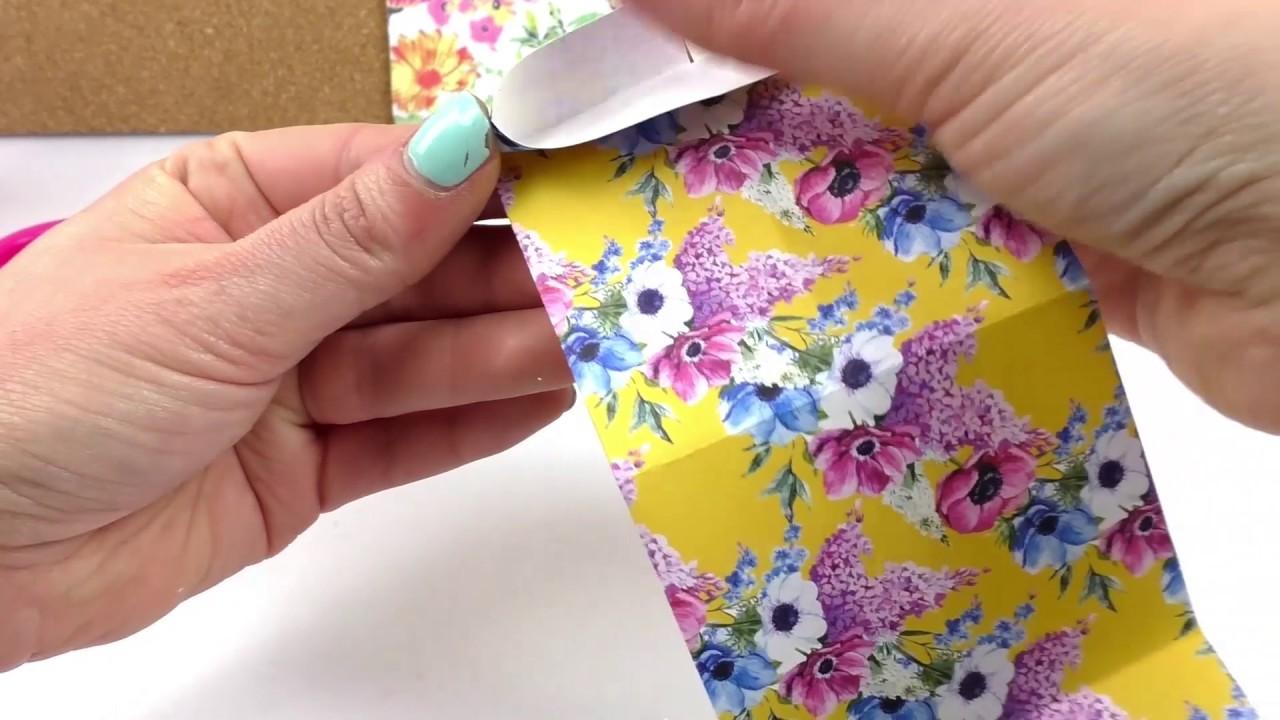 Opakowanie na prezent w ksztalcie serca | proste origami