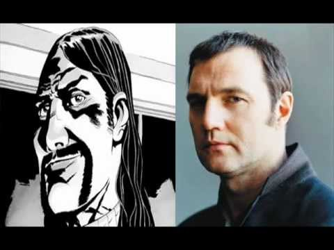 The Walking Dead Governor Cast - David Morrissey - Official