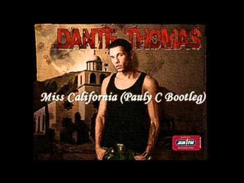Dante Thomas - Miss California CD single