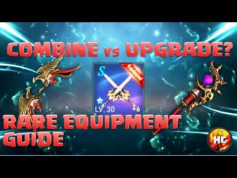 Lineage 2: Revolution Equipment Guide - Combing vs Upgrading Weapons & How to get Rare Items