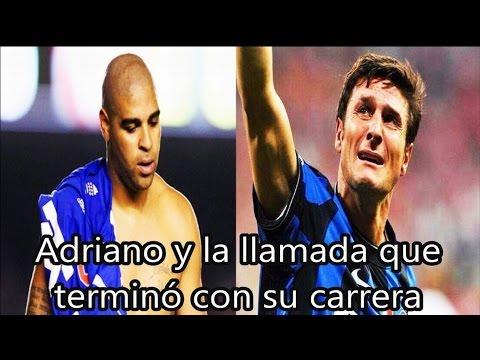 Adriano y la llamada que terminó con su carrera | Fútbol Social