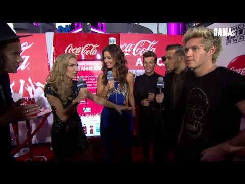One Direction Red Carpet Interview - Amas 2014 video