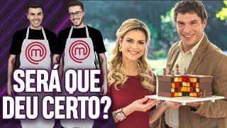 FIZEMOS O BOLO XADREZ DO BAKE OFF BRASIL! | Virou Festa