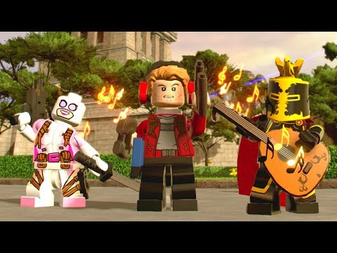 LEGO Marvel Super Heroes 2 - All Characters With Musical Abilities