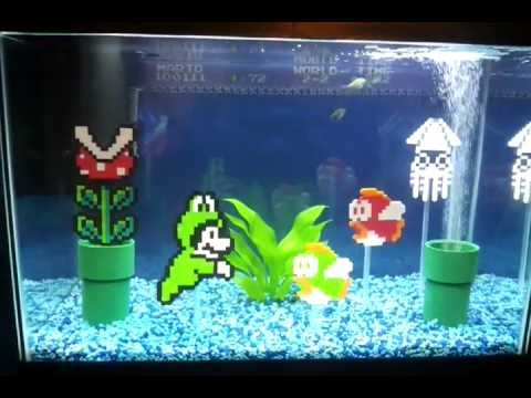 pretty fish tanks