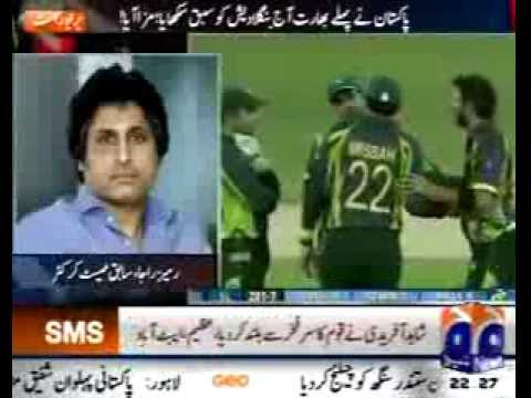 Shahid Afridi Fastest 50 (asia Cup 2014) In Bangladesh video