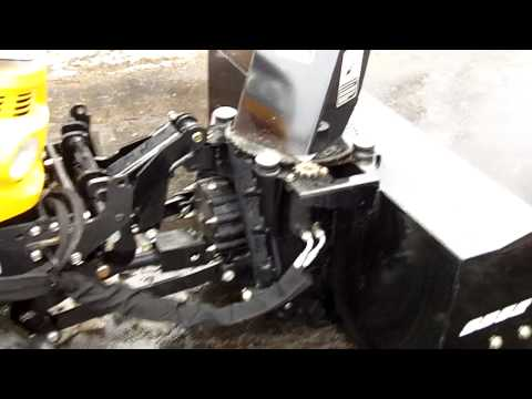 SB52 snowblower on a CubCadet/Yanmar SC2450 (SC2400)