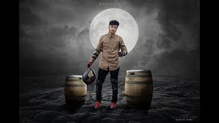 Moon Rider -  Photo Manipulation Effect | Photoshop tutorial