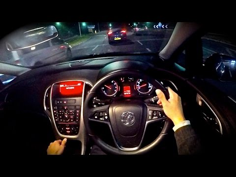 Vauxhall Astra Turbo - POV Night Test Drive