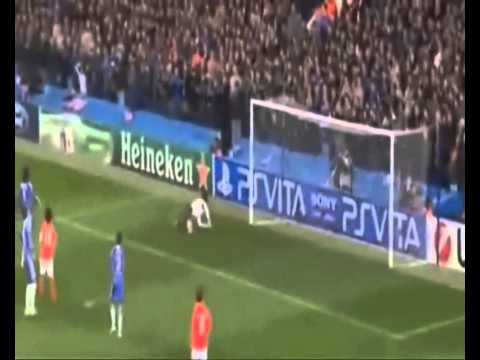 Petr Cech vs Thibaut Courtois (HD) Fight Saves