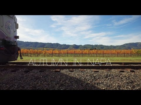 2 Minutes of Autumn in Napa Valley - 4k