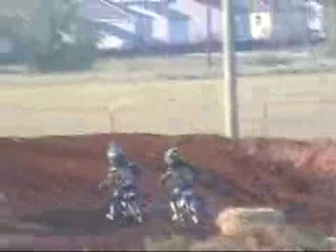 PW50 motocross (Mohawk Kid)  6 year old vid #3