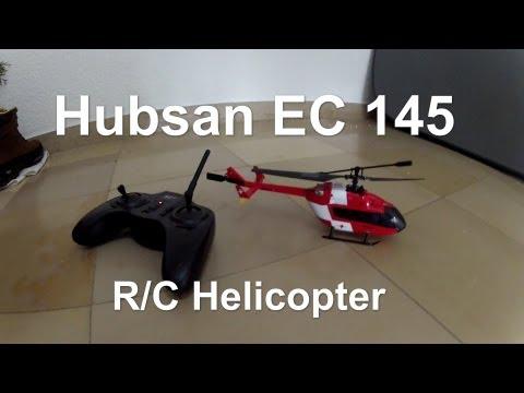 Hubsan EC 145 H105B 4ch mini  R/C Helicopter RTH (Crash)