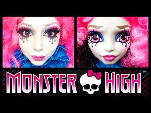 Monster high makeup videos