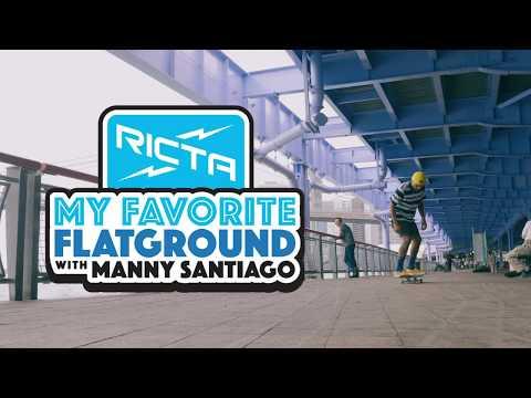 Manny Santiago's Favorite Flatground Trick | 360 Pop Shove It