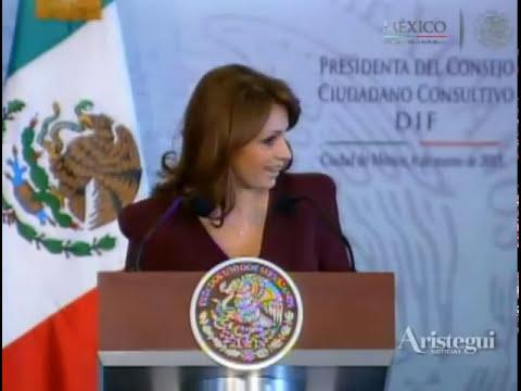 Primer discurso de Angélica Rivera como primera dama