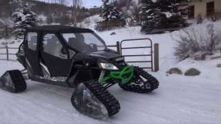 Arctic Cat Wildcat Turbo Camoplast Tracks Short Field Test Evolution PowerSports