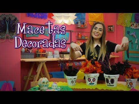 Macetas Decoradas - Idea Lab: Raiza Revelles