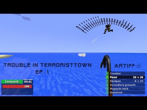 Garry's Mod - Trouble in Terroristtown #1 - Best Jihad Bomb ever!!!
