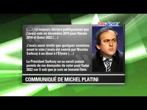 Coupe du monde 2022 / UEFA -- Platini dément pour le Qatar
