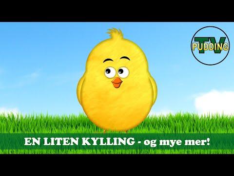 En liten kylling - og mye mer! | Norske barnesanger | 30 min. MIX