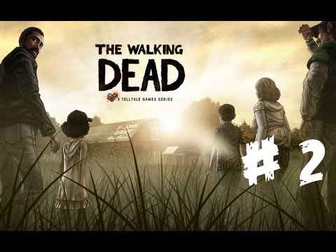 IN THE GHETTO :D :The Walking Dead Episode 1 Part 2