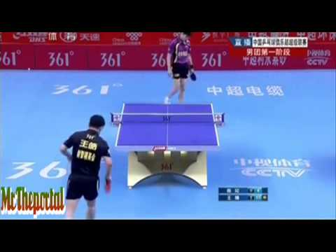 Chinese Table Tennis Super League - Chen Qi Vs Wang Hao -