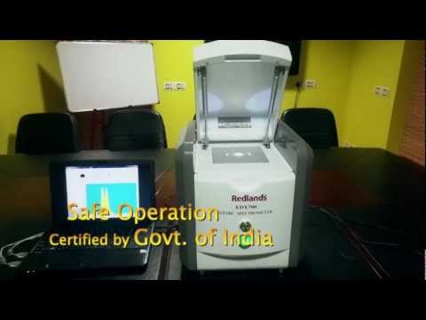 GOLD PURITY ANALYZER INDIA |GOLD TESTING MACHINE|REDLANDS| ASHLYN CHEMUNNOOR |SPECTROMETER