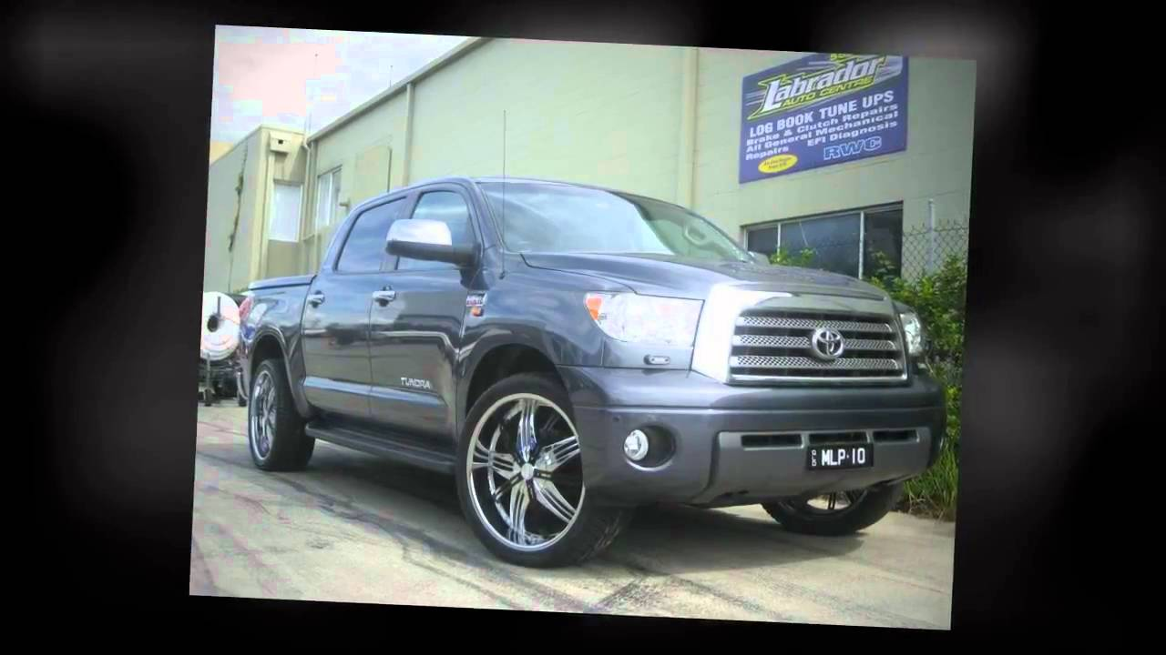 F1 Wheel Amp Tyre Toyota Tundra Rolling 24inch G2 Wheels Youtube