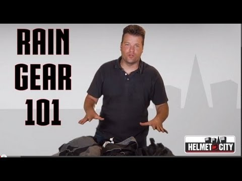 Rain Gear 101: Options for Motorcycle Riders with