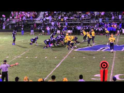 Rocky Mount High School Gryphons Football - Game Highlights vs. Wilson Hunt - 10/17/14
