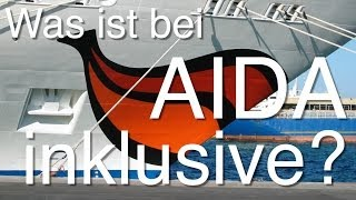 Was ist bei AIDA inklusive - was kostet extra? - AIDA-Guide