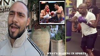 FLOYD MAYWEATHER DROPS TRAINING VIDEO & KEITH THURMAN WANTS REMATCH WITH MANNY PACQUIAO