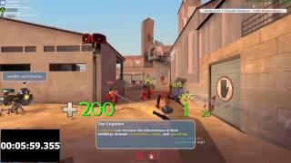 Team Fortress 2 Training mode Speedrun - 9:01 (Formar World Record)