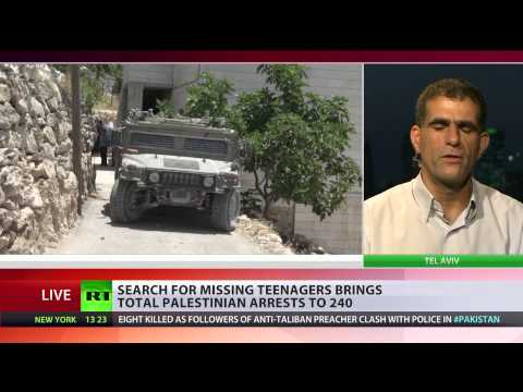 Israeli Crackdown: Over 200 arrested in search for kidnapped teens